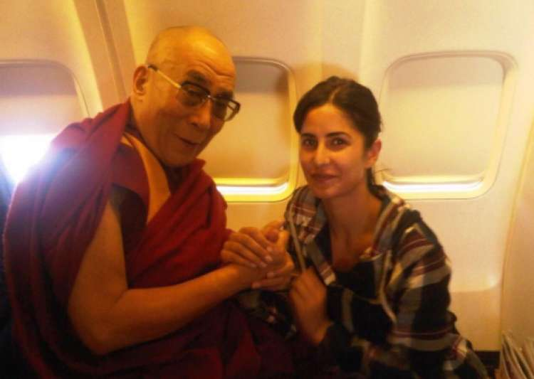 Katrina Kaif, Dalai Lama- India Tv