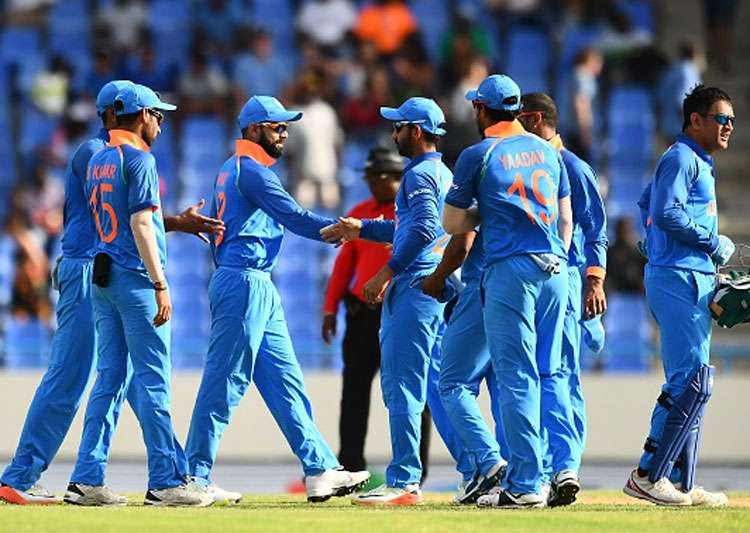 Live Score India vs West Indies 4th - Indian Team