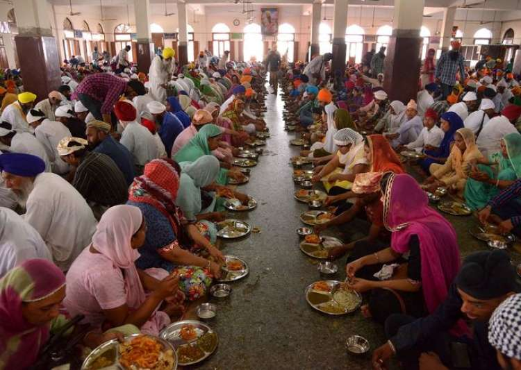 No GST on free food supplied by religious institutions:- India Tv