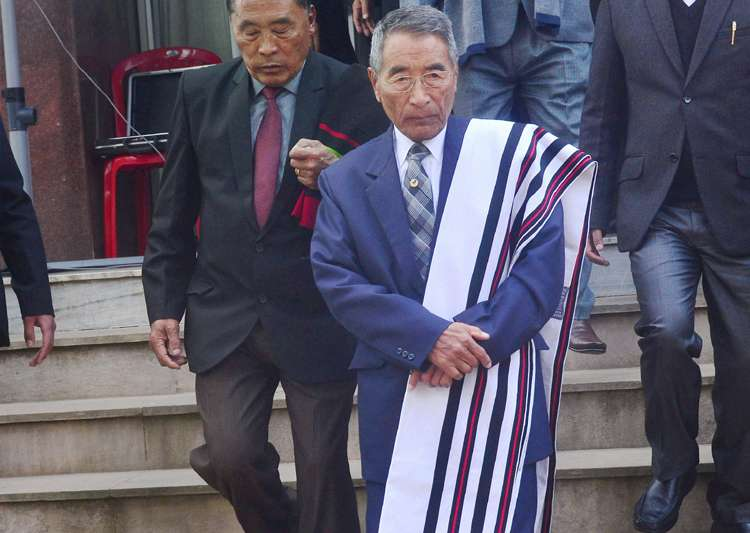 Nagaland CM was stopped from entering Assembly hall during
