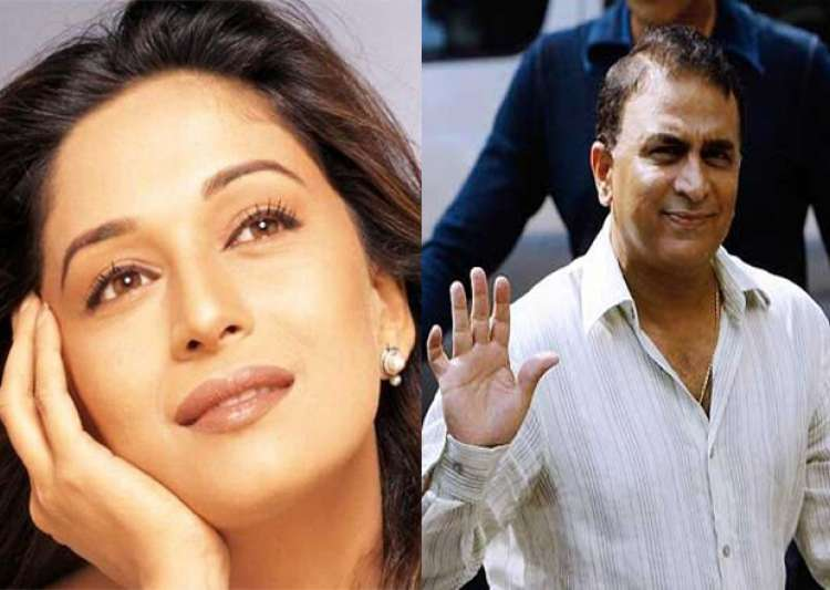 Did you know Madhuri Dixit was mad about a cricketer!