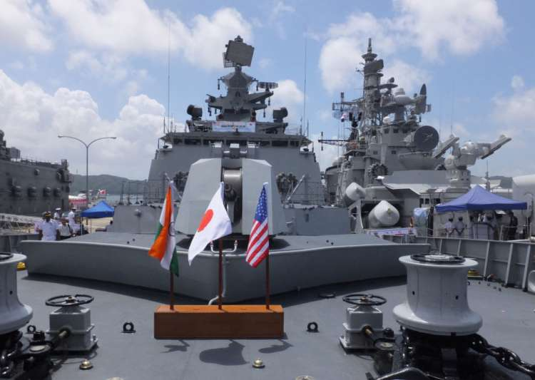 Amid standoff with China, India, US and Japan to begin- India Tv
