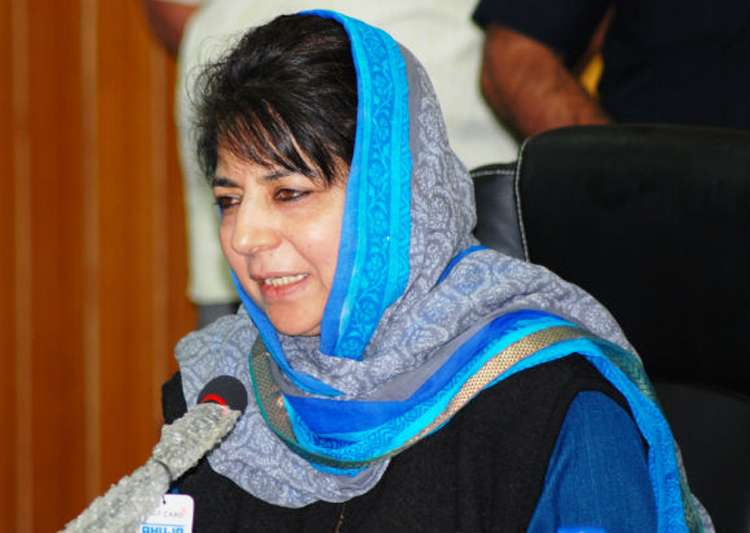 File pic of Mehbooba Mufti - India Tv