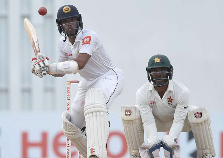 Ervine guides Zimbabwe to 344/8 on Day 1 against SL