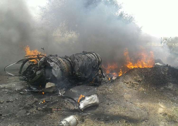 IAF's trainer aircraft MiG-23 crashes in Jodhpur