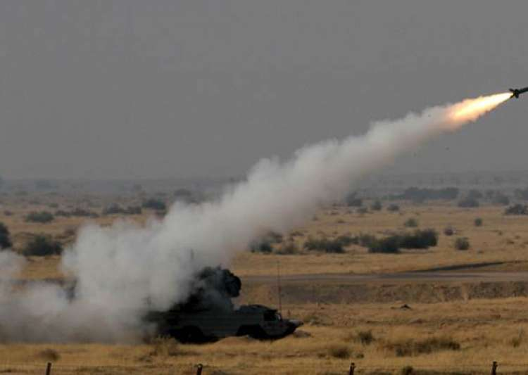 India successfully test-fires quick reaction missile
