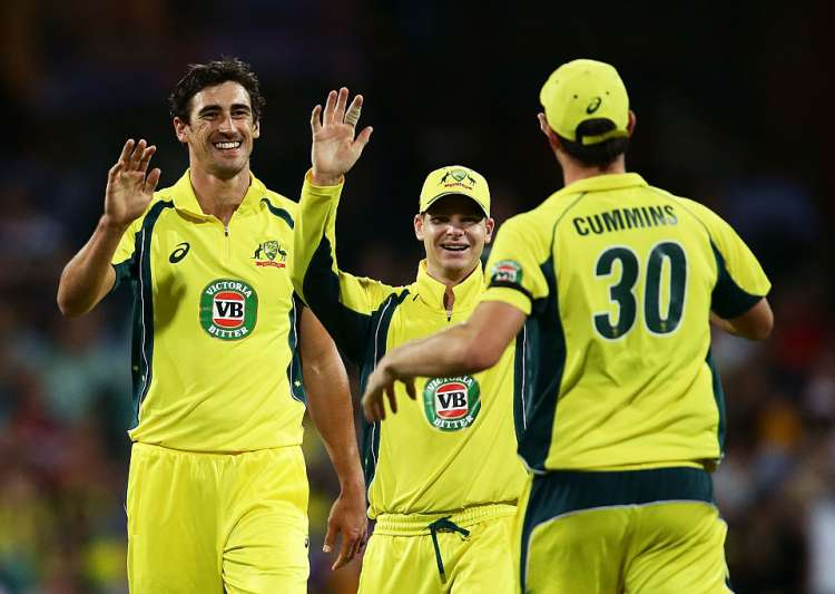 A file image of Australian cricketers- India Tv