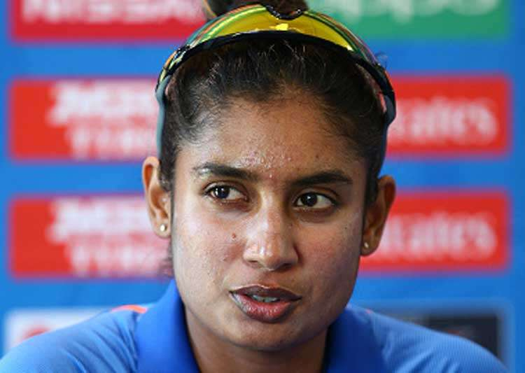 Mithalii Raj speaking at the post-match conference- India Tv