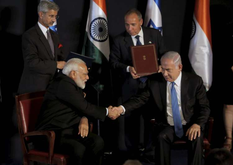 India, Israel ink 7 agreements on PM Narendra Modi's visit- India Tv