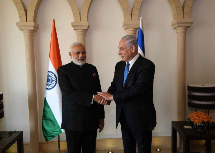 Israel PM called Modi as a