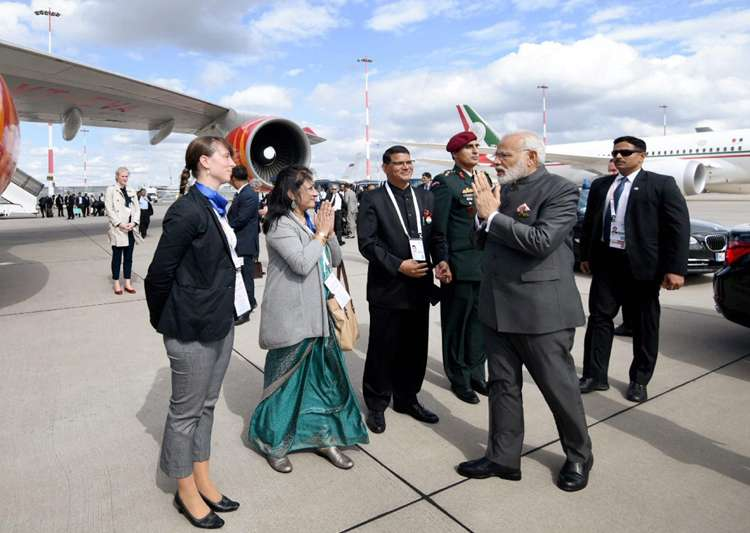PM Modi leaves for home as G20 Summit concludes- India Tv