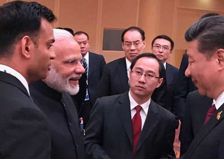 Picture speaks more than a thousand words: India on Modi-Xi- India Tv