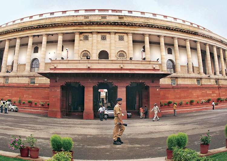Monsoon session of Parliament begins on Monday- India Tv