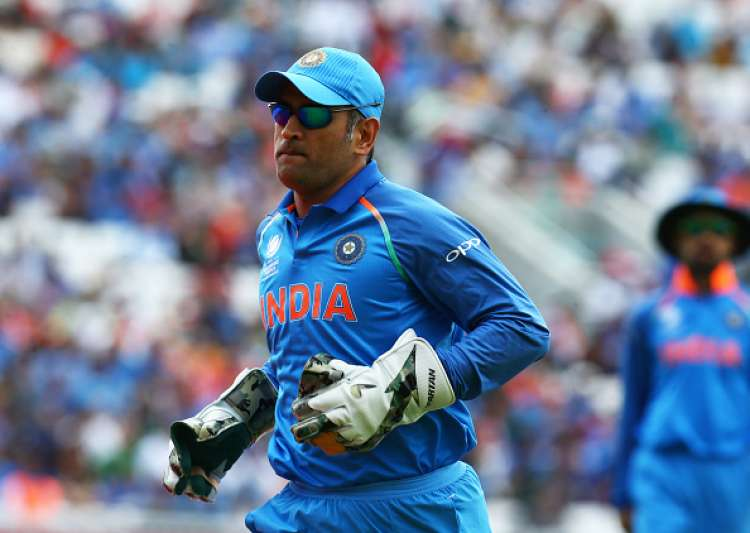 MS Dhoni of India during the ICC Champions Trophy match- India Tv