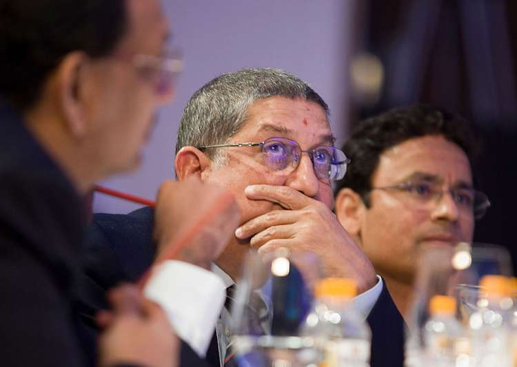 A file image of N Srinivasan - Former BCCI President- India Tv