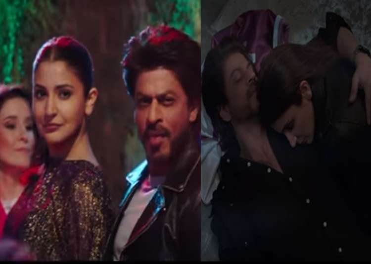 SRK the charmer is back, serenading Anushka in Beech Beech Me