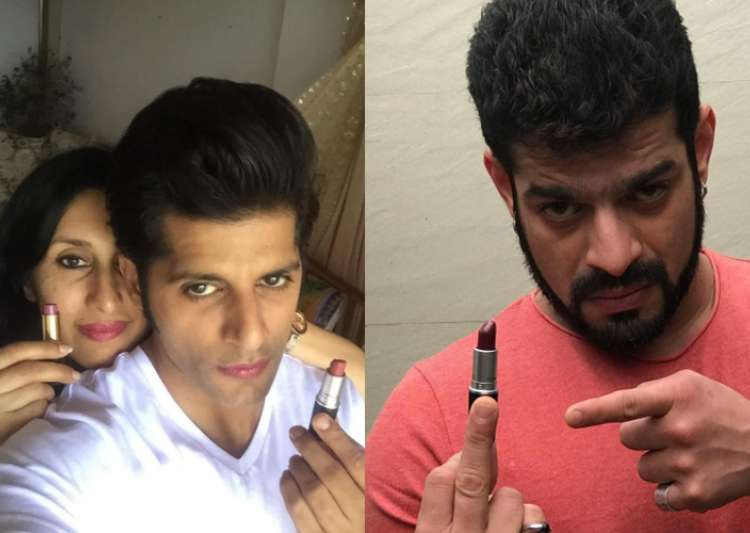 Karan Patel, Karanvir Bohra Lipstick Under My Burk- India Tv