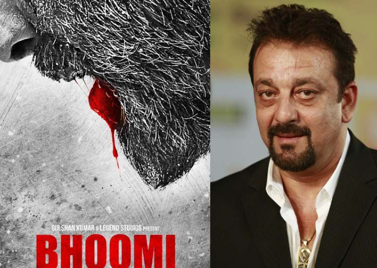 Sanjay Dutt sheds blood in Bhoomi teaser poster