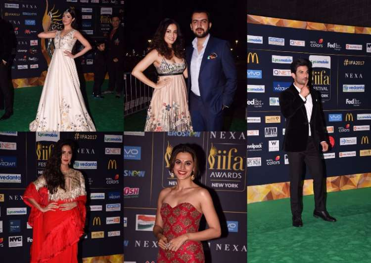 IIFA Day 2-Bollywood at its best at the Green Carpet event- India Tv