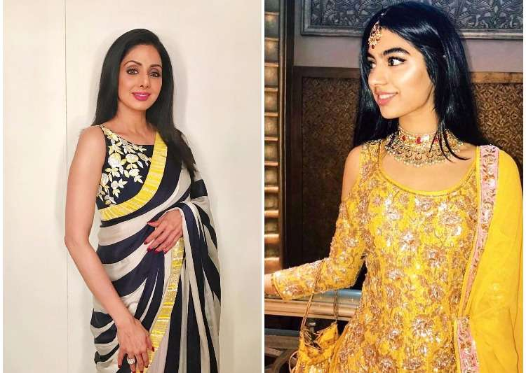 Sridevi and daughter Khushi Kapoor- India Tv