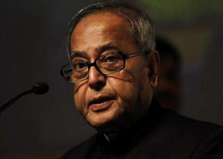 President Pranab Mukherjee- India Tv
