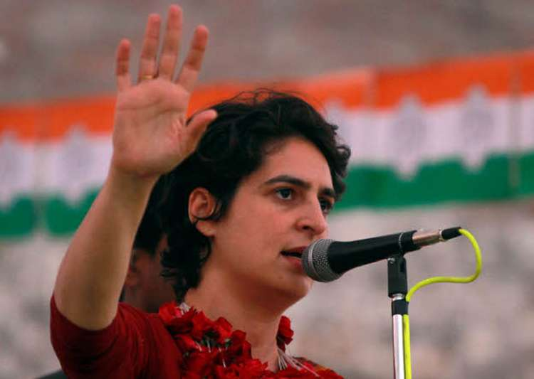 File pic of Priyanka Gandhi- India Tv