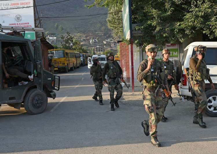 Three militants killed in gunfight in Jammu and Kashmir