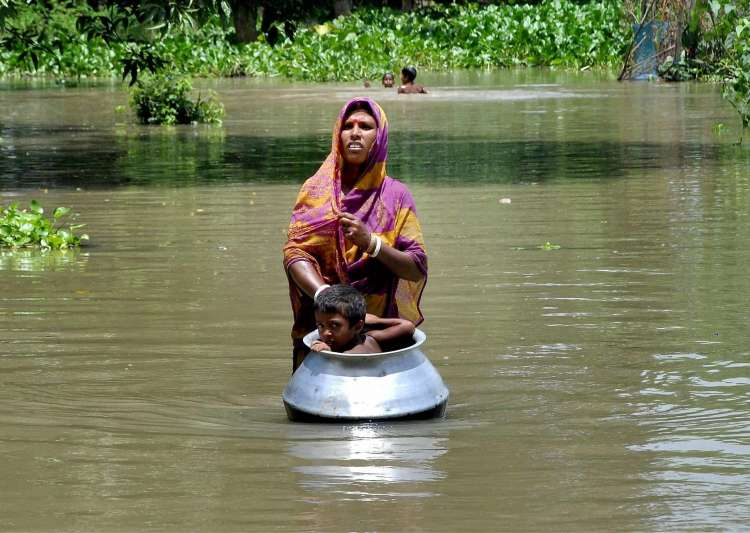 Over 4 lakh people affected by flood in Assam