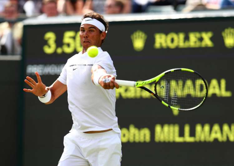 Nadal already feeling at home on Wimbledon grass