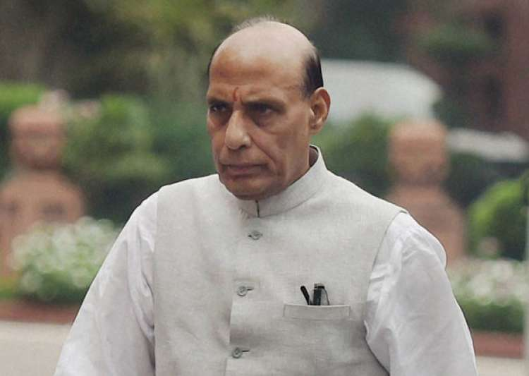 Why doesn't Rahul take SPG on foreign visits, asks Rajnath