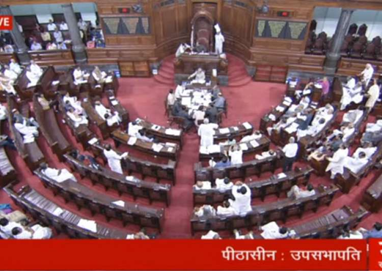 Government suffers embarrassment in Rajya Sabha over failed bill