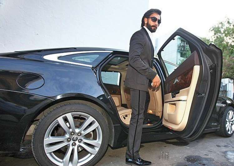 Ranveer Singh was spotted in his brand new white Aston- India Tv
