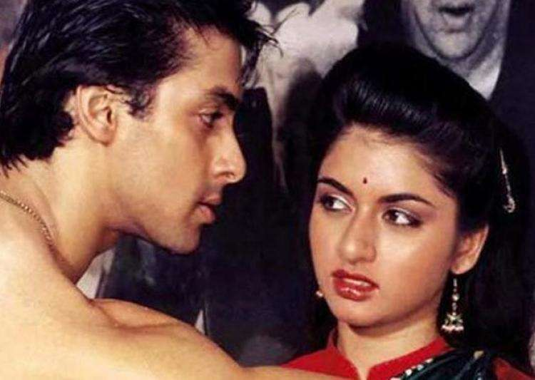 Salman Khan, Bhagyashree- India Tv