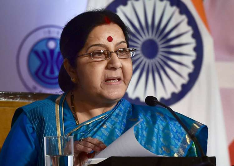 Snub for Pak as Sushma allows visa for PoK man without- India Tv