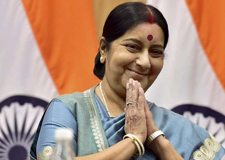 Man arrested for using forged letters of Sushma Swaraj for- India Tv