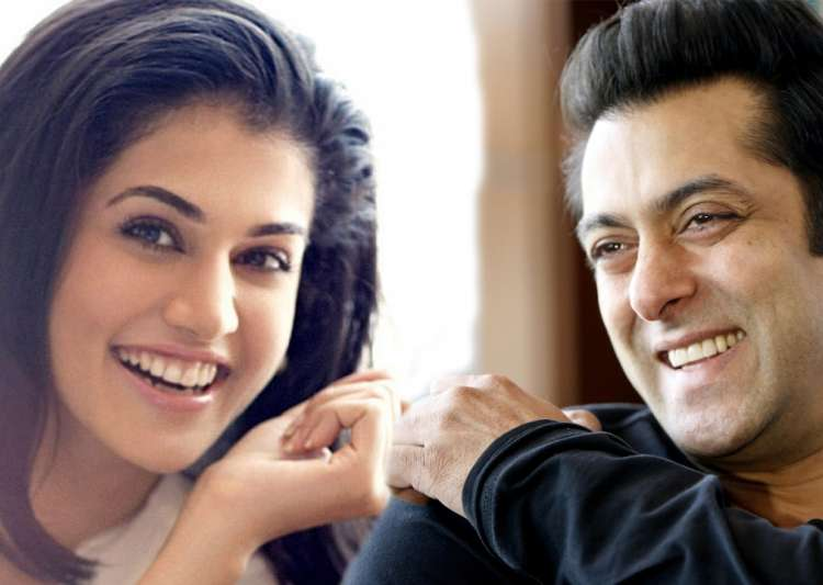 Judwaa 2: Taapsee Pannu wants to shoot with Salman Khan in film