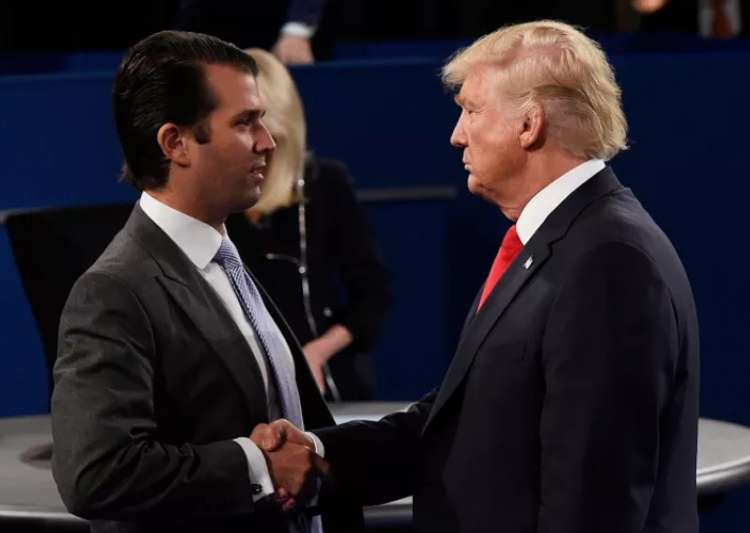 Donald Trump defends son for 'transparency' over Russia- India Tv