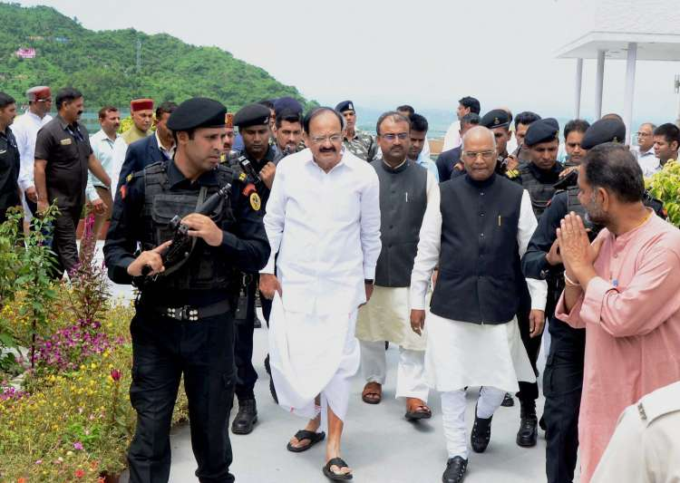 Venkaiah Naidu is NDA's pick as its candidate for
