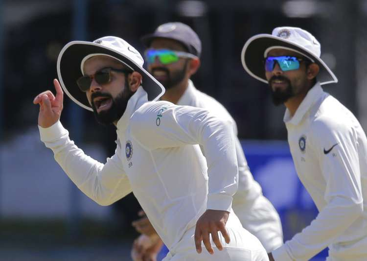 Sri Lanka reach 85-2 in hunt for 550 against India
