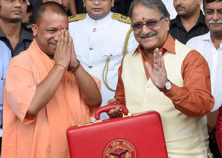 Yogi Adityanath govt presents budget of Rs 3.84 lakh cr