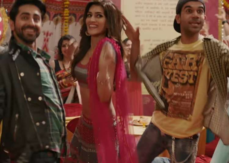 Behind the scenes with Kriti Sanon, Ayushmann Khurana and Rajkummar Rao