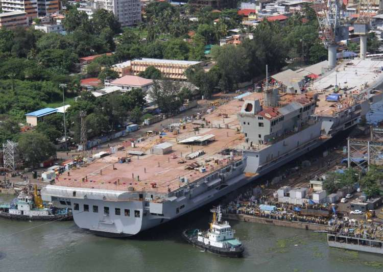 Cochin Shipyard shares list with almost  2 per cent premium