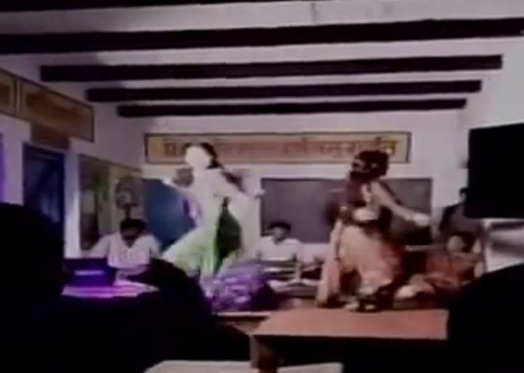 UP village head's relatives turn primary school into dance bar