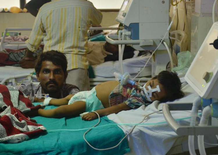 A hospital in India died 60 children