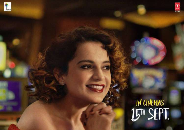 New Simran poster released, features Kangna Ranaut