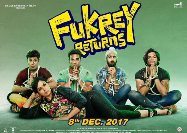 In Picture: Official posters of 'Fukrey Returns' revealed