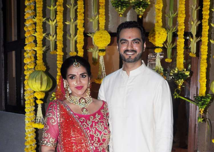 Inside Esha Deol's Baby Shower. She Looked Lovely In Red