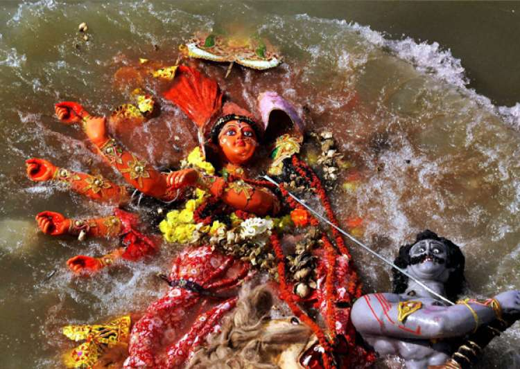 Mamata trying to divide Hindu, Muslim: BJP on Durga idol immersion order