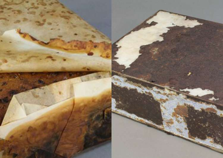 100-year-old fruitcake discovered, experts say may still edible, nearly