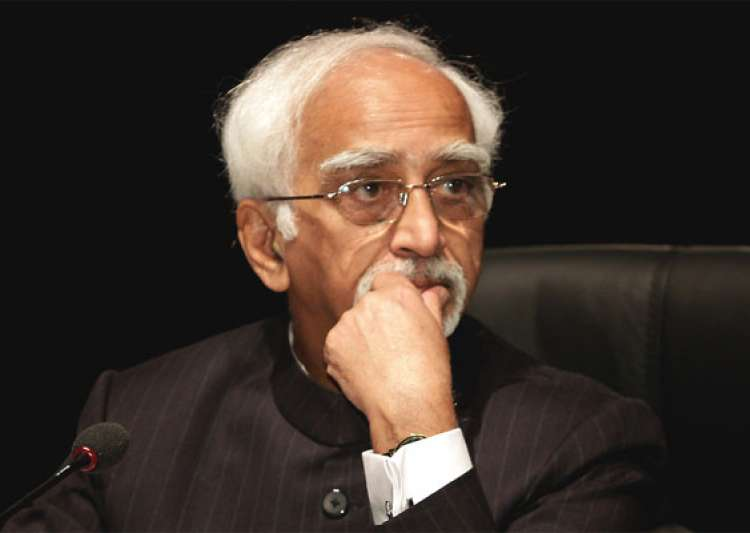 BJP leaders slam Hamid Ansari for 'Muslim unease' comment